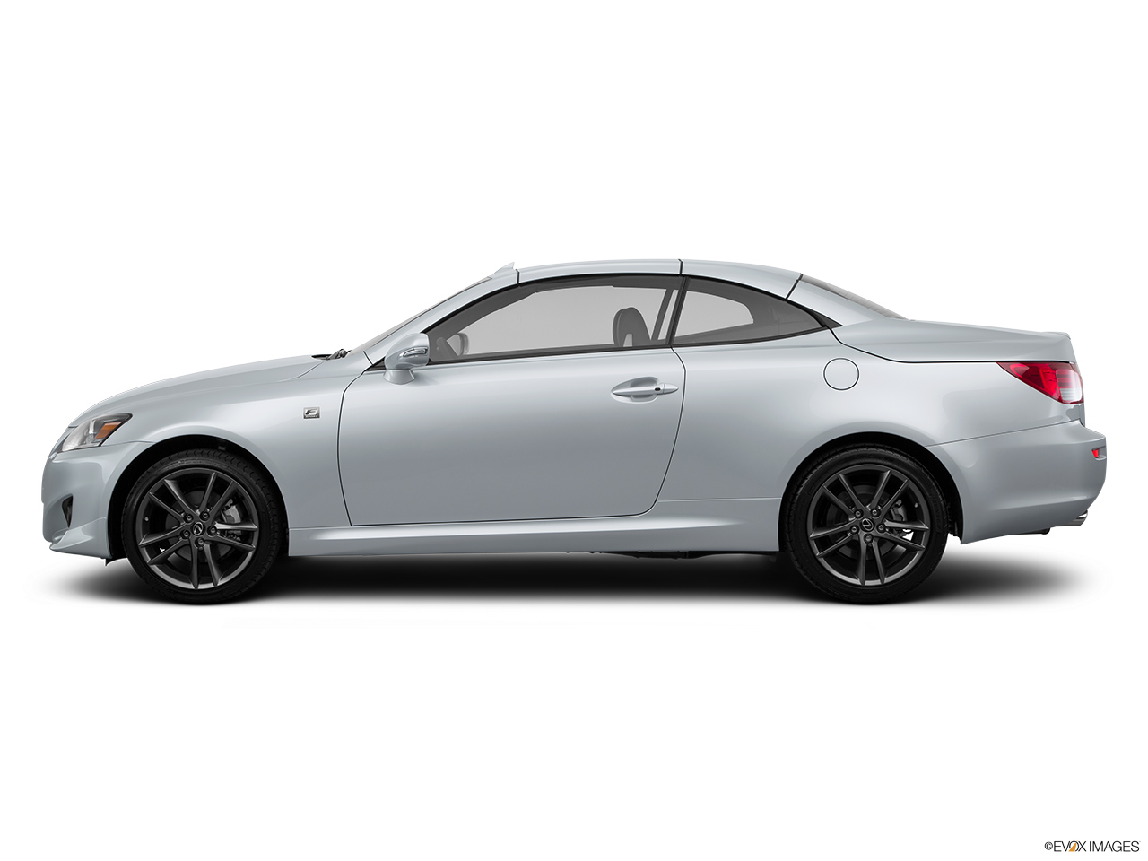 2015 Lexus IS C IS250 RWD Drivers side profile, convertible top up (convertibles only).