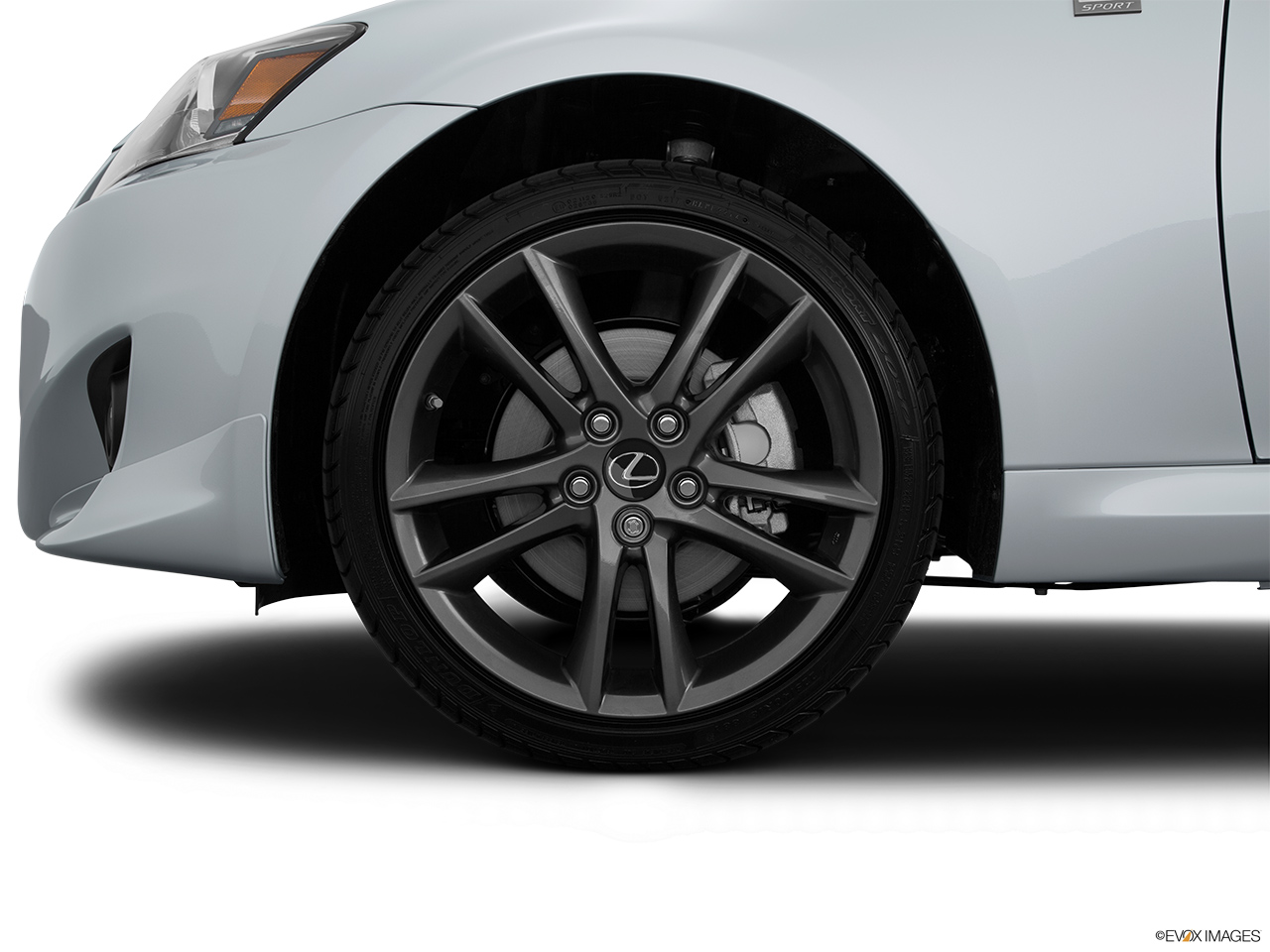 2015 Lexus IS C IS250 RWD Front Drivers side wheel at profile.