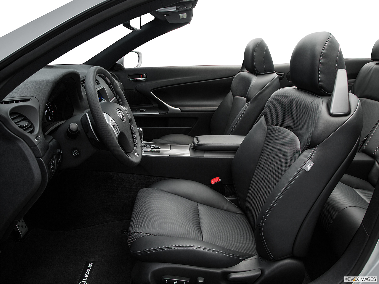 2015 Lexus IS C IS250 RWD Front seats from Drivers Side.