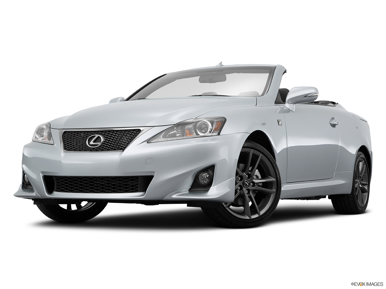 2015 Lexus IS C IS250 RWD Front angle view, low wide perspective.
