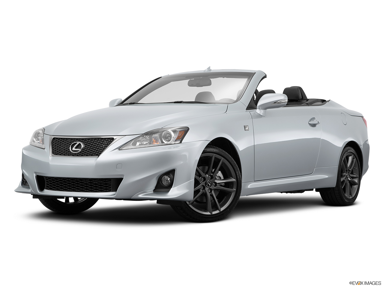 2015 Lexus IS C IS250 RWD Front angle medium view.