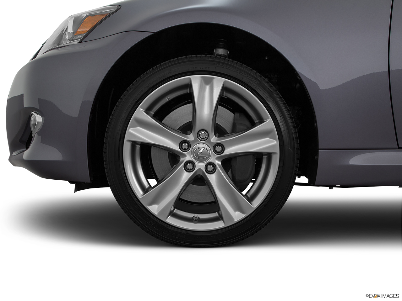 2015 Lexus IS C IS 350 Front Drivers side wheel at profile.