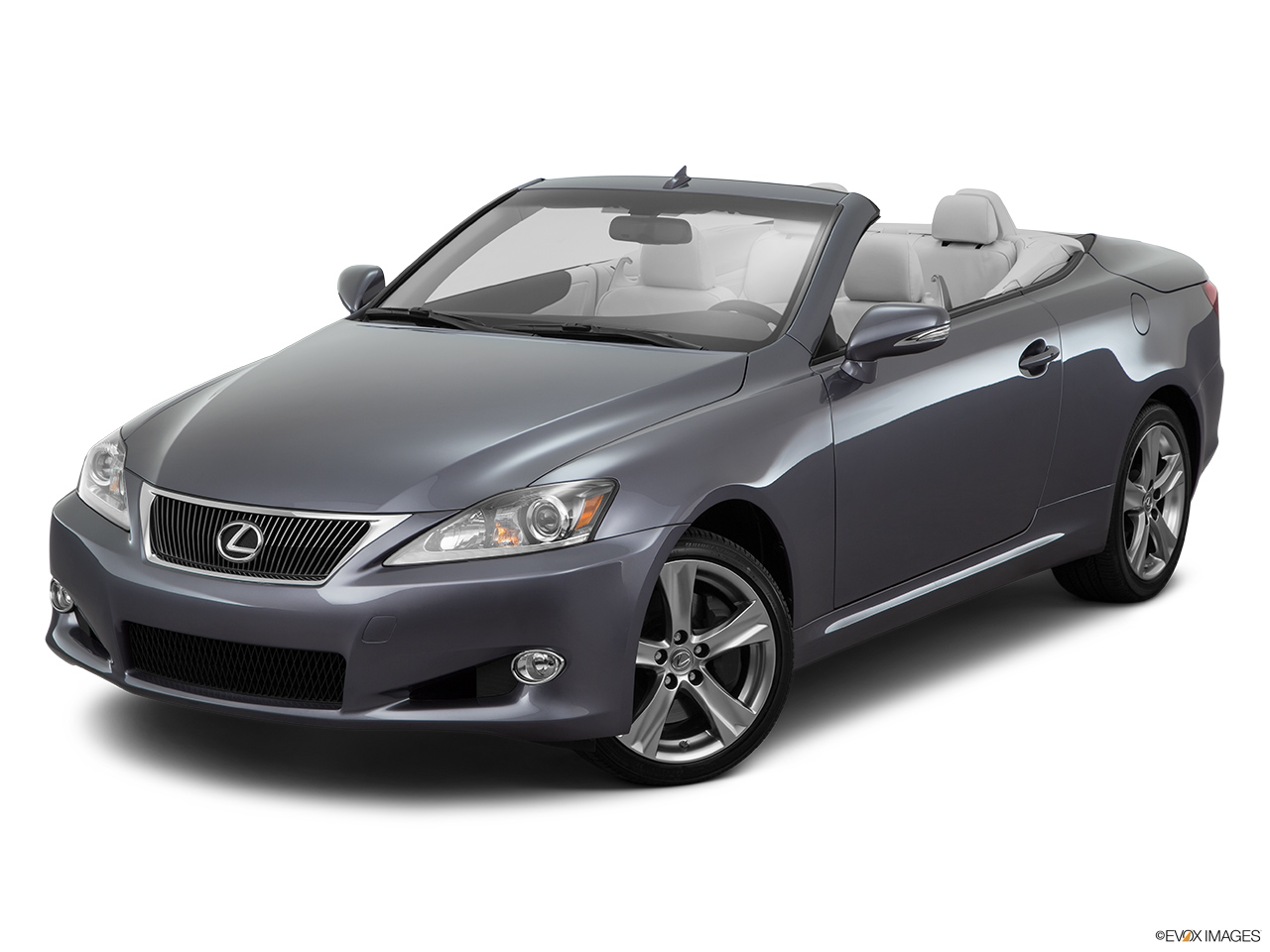 2015 Lexus IS C IS 350 Front angle view.