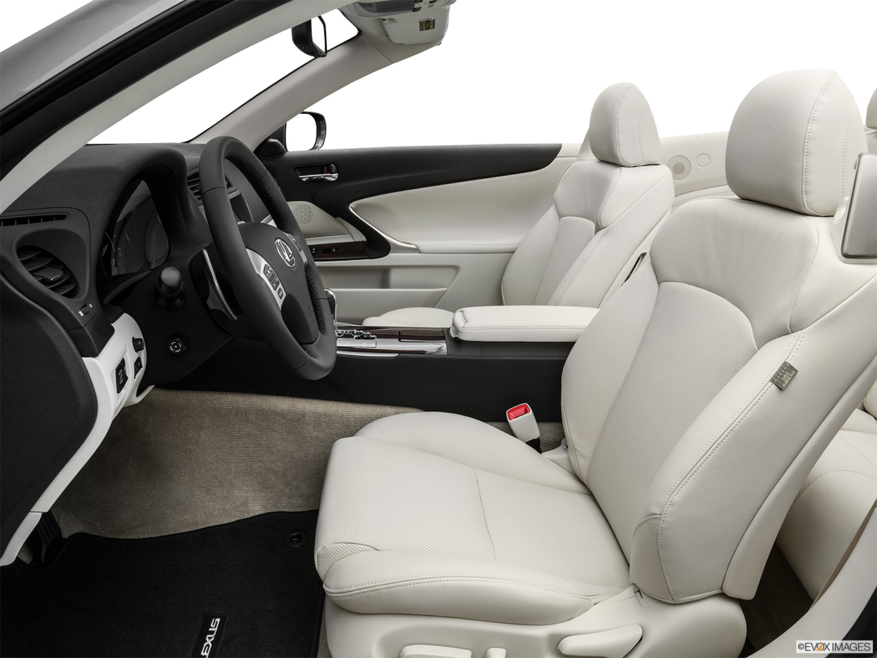 2015 Lexus IS C IS 350 Front seats from Drivers Side.