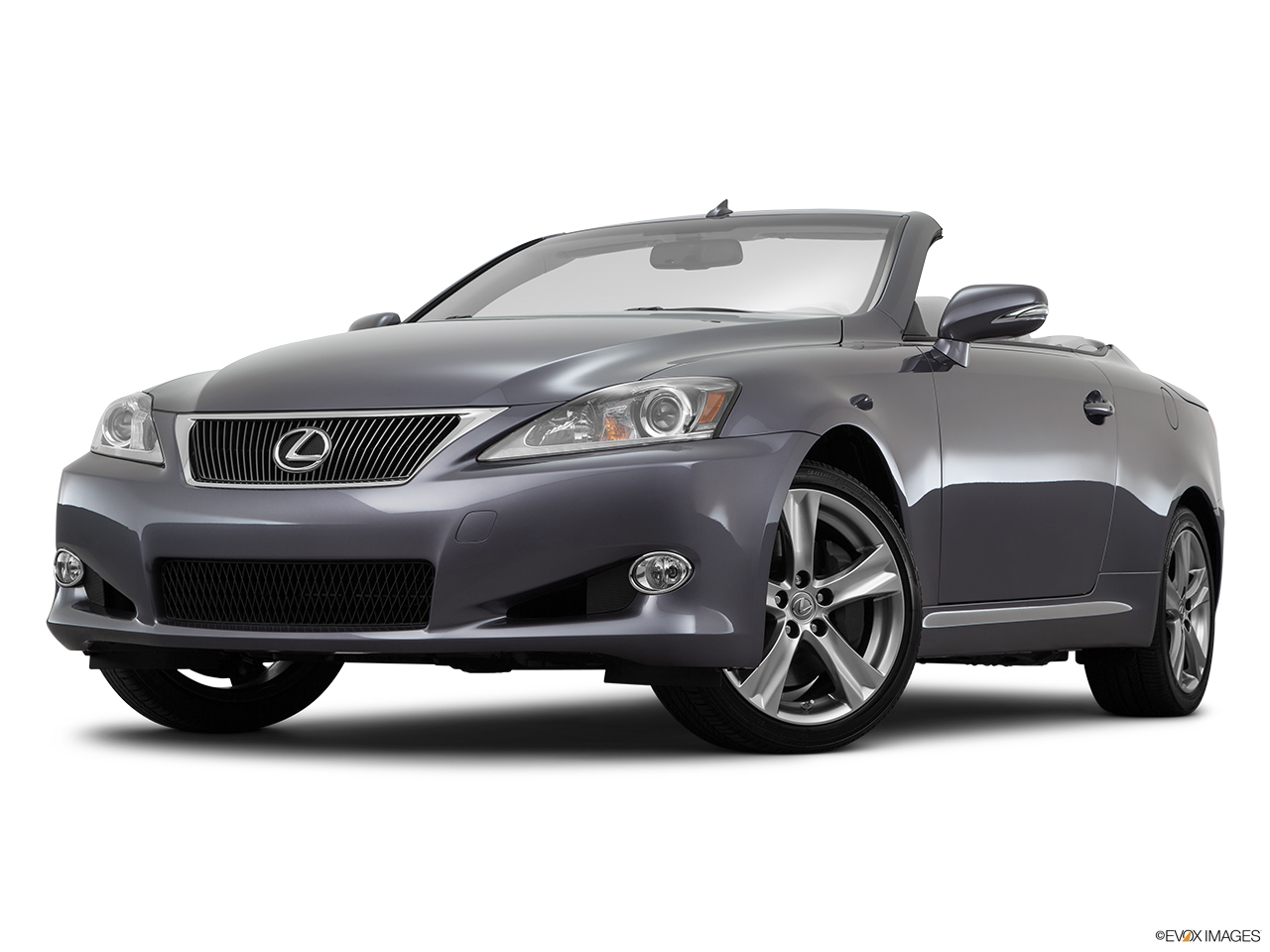 2015 Lexus IS C IS 350 Front angle view, low wide perspective.