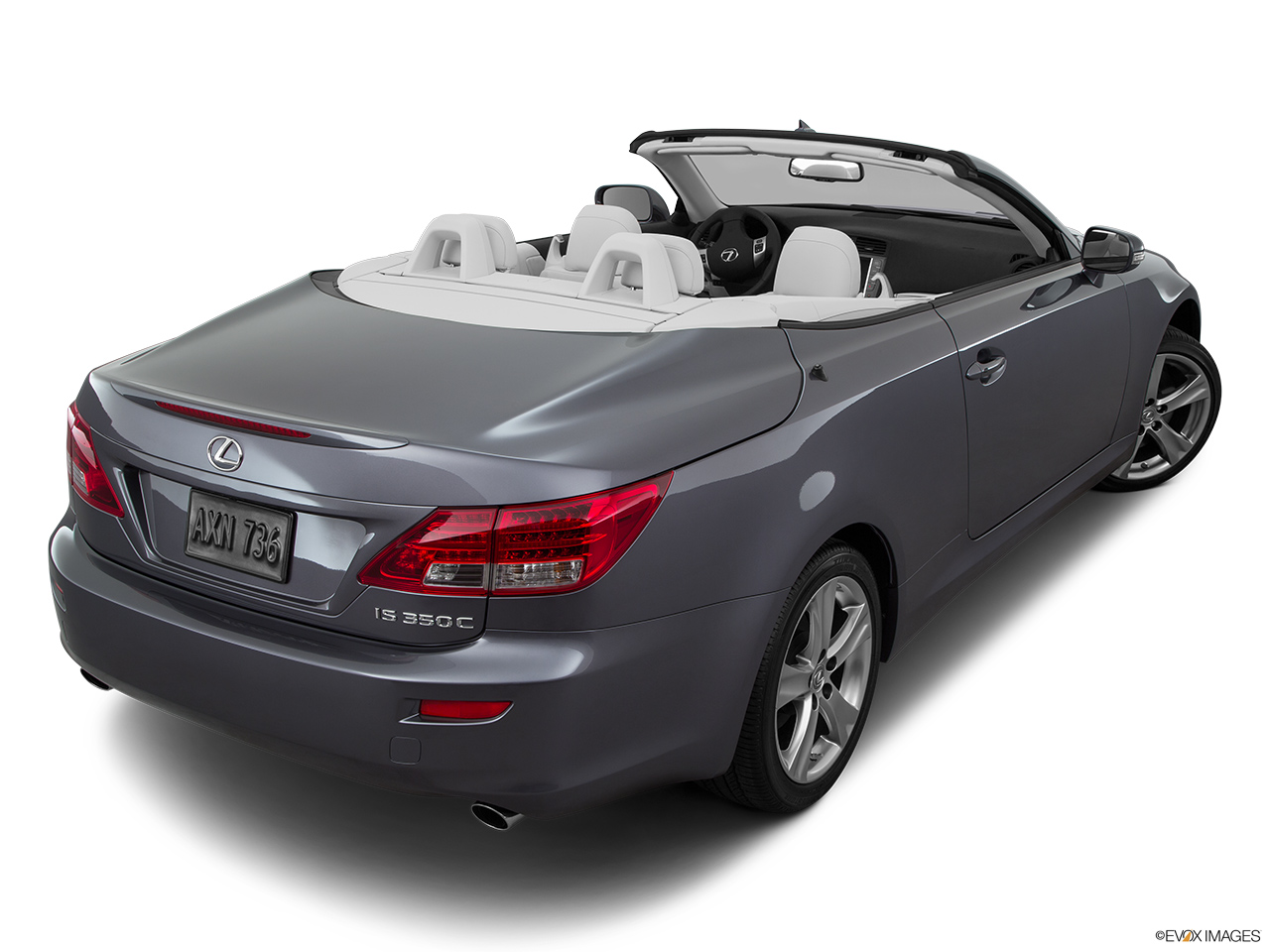 2015 Lexus IS C IS 350 Rear 3/4 angle view.