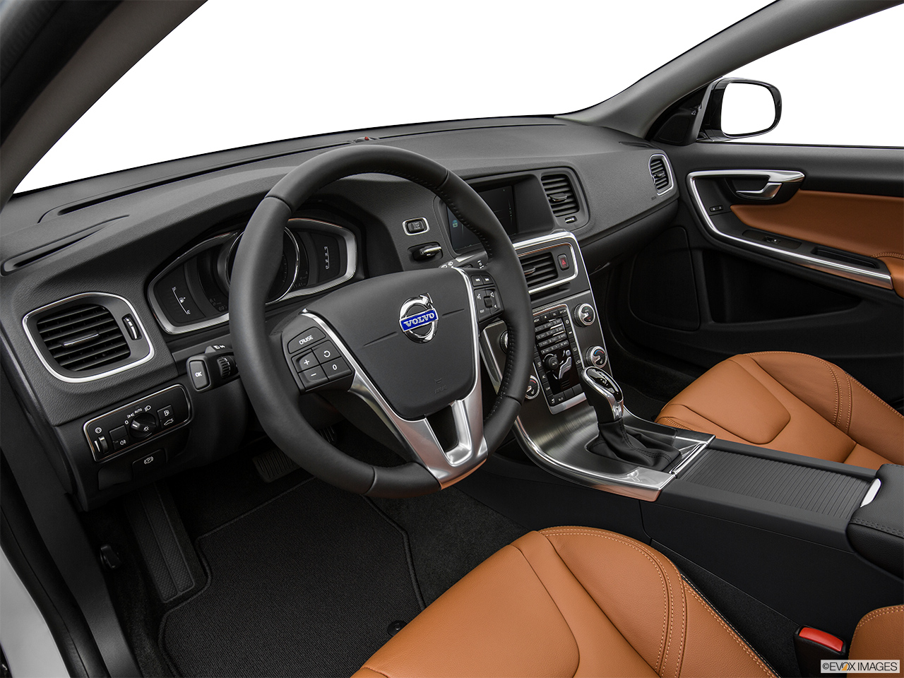 2015 Volvo V60 Cross Country T5 AWD Interior Hero (driver's side).