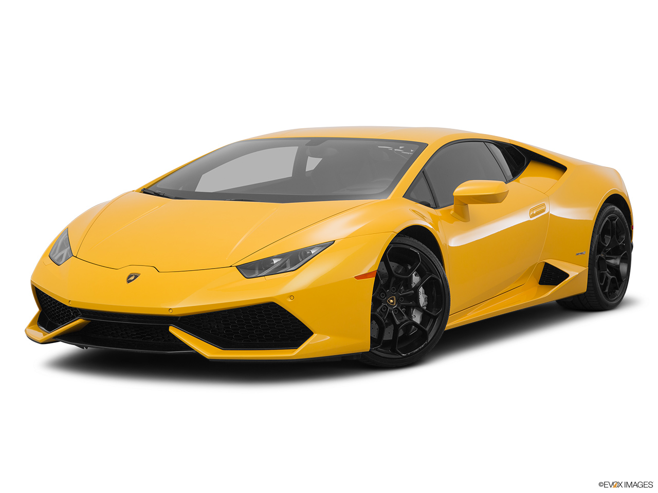 2015 Lamborghini Huracan LP 610-4 Front angle medium view.