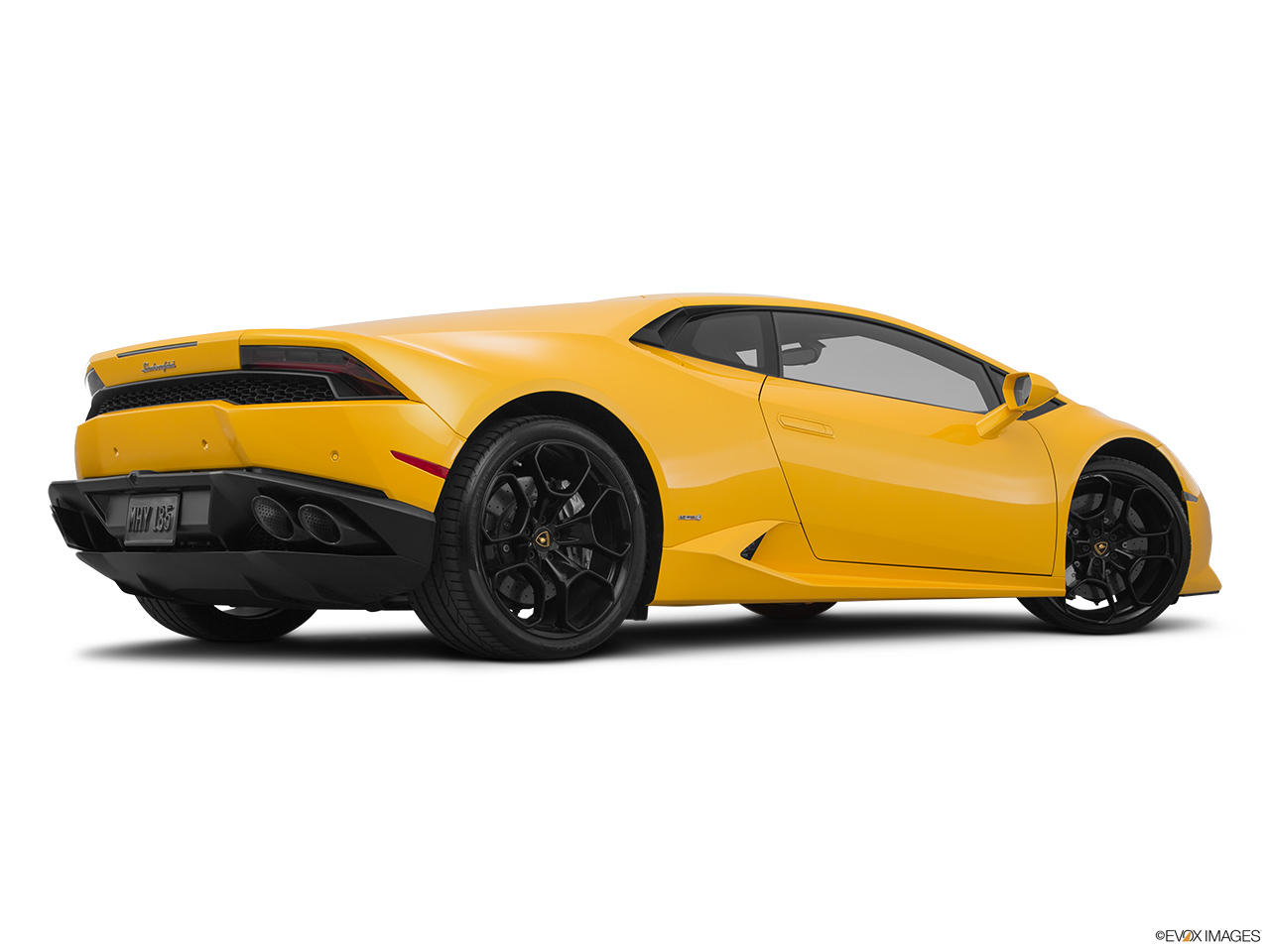 2015 Lamborghini Huracan LP 610-4 Low/wide rear 5/8.