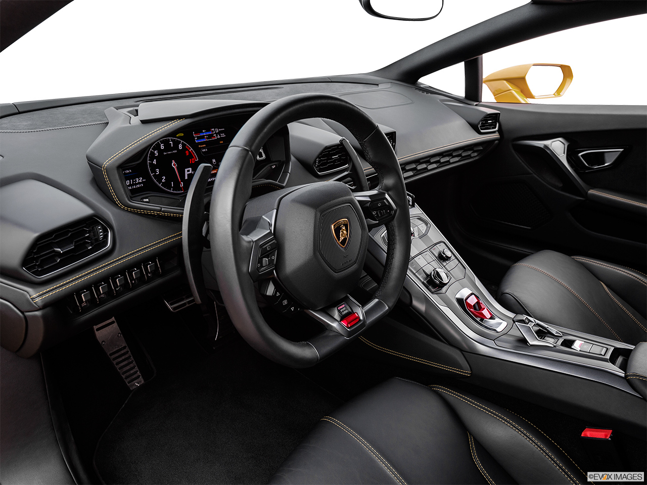 2015 Lamborghini Huracan LP 610-4 Interior Hero (driver's side).