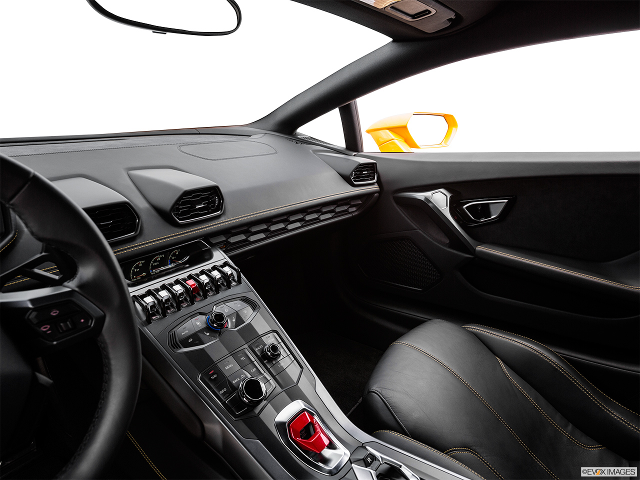 2015 Lamborghini Huracan LP 610-4 Center Console/Passenger Side.