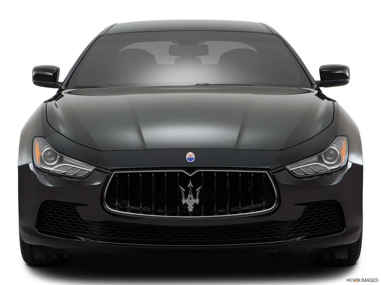 2015 Maserati Ghibli Base Low/wide front.