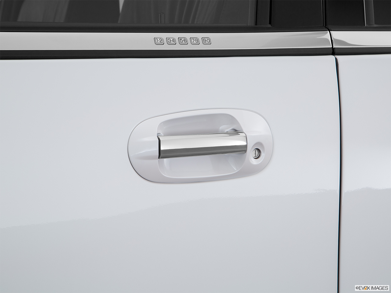 2016 Lincoln Navigator Reserve Drivers Side Door handle.