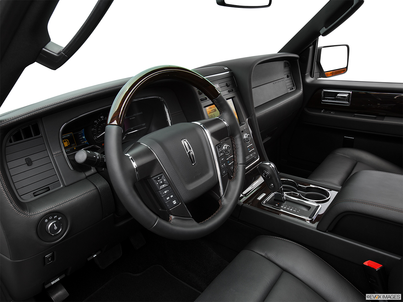 2016 Lincoln Navigator Reserve Interior Hero (driver's side).