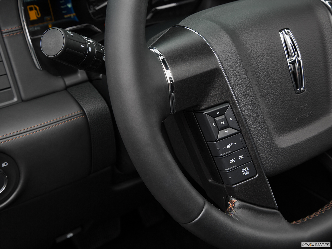 2016 Lincoln Navigator Reserve Steering Wheel Controls (Left Side)