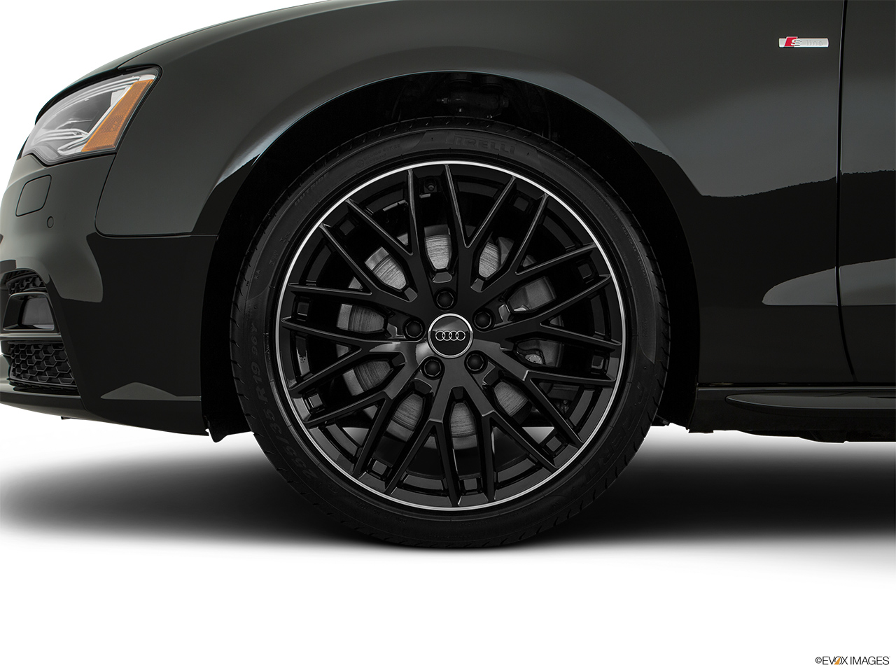 2017 Audi A5 Sport 2.0 TFSI Front Drivers side wheel at profile.