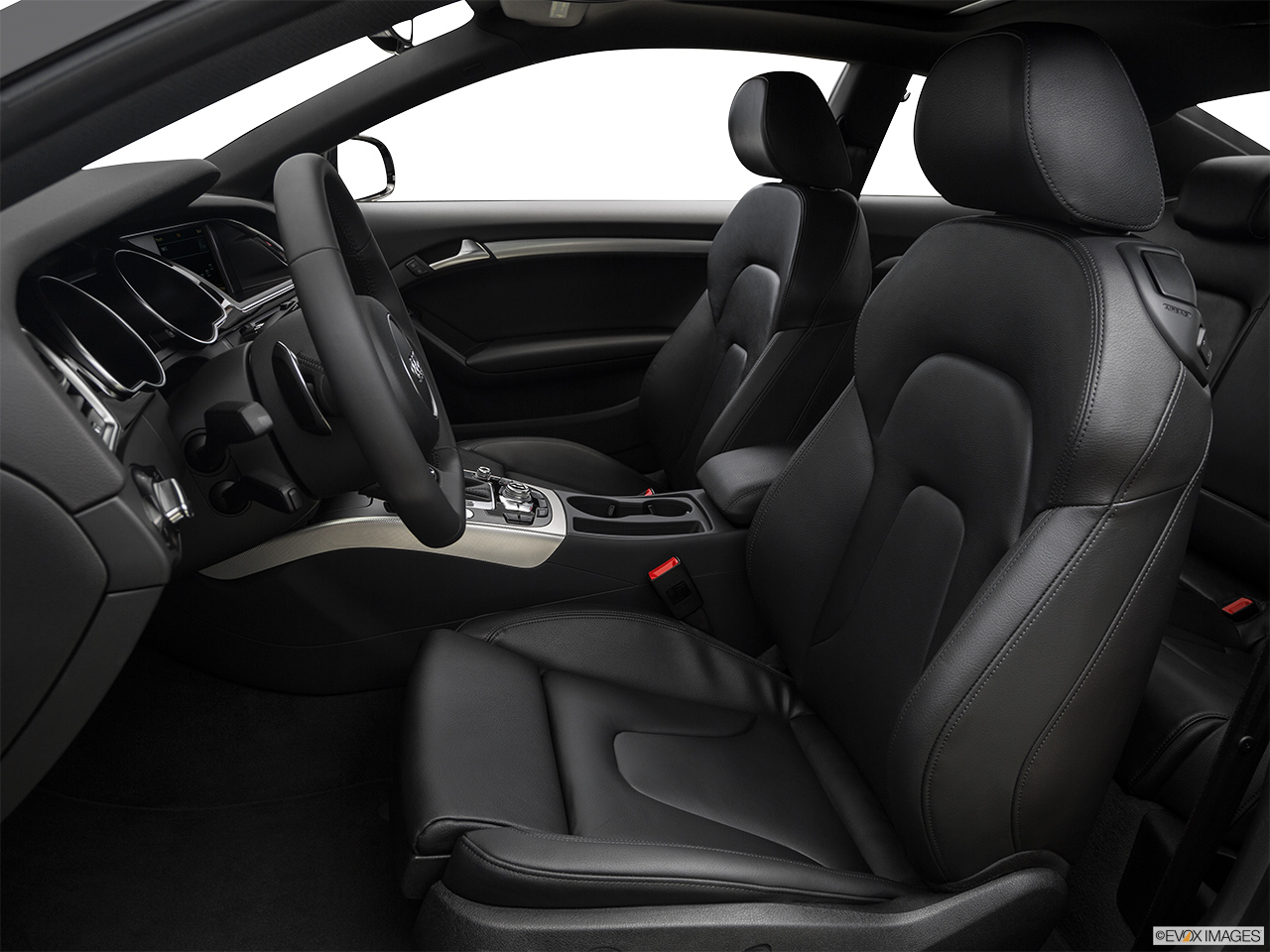 2017 Audi A5 Sport 2.0 TFSI Front seats from Drivers Side.
