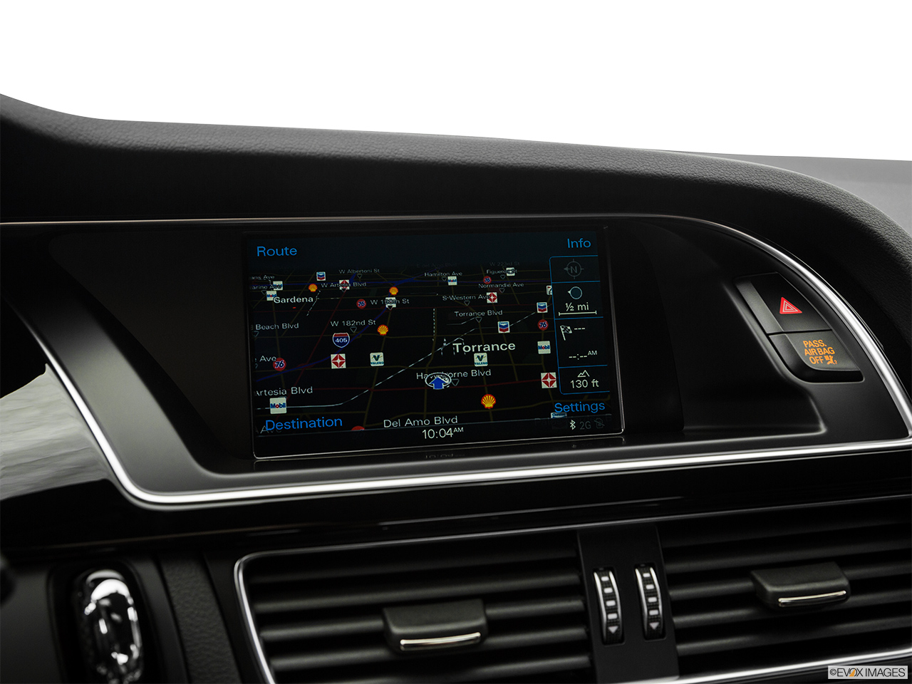 2017 Audi A5 Sport 2.0 TFSI Driver position view of navigation system.