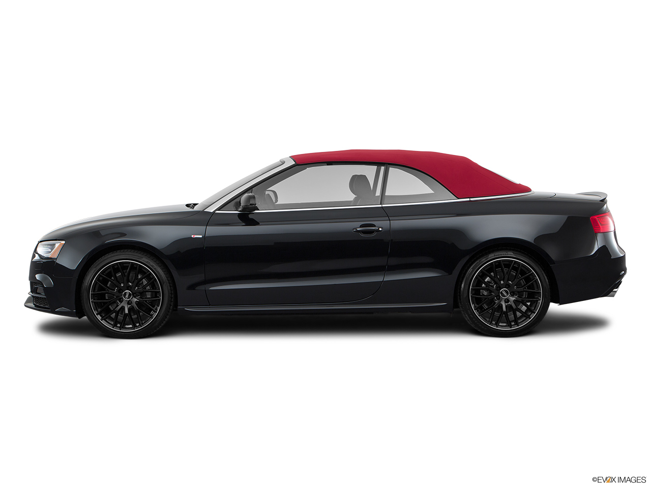 2017 Audi A5 Sport Cabriolet 2.0 TFSI Drivers side profile, convertible top up (convertibles only).