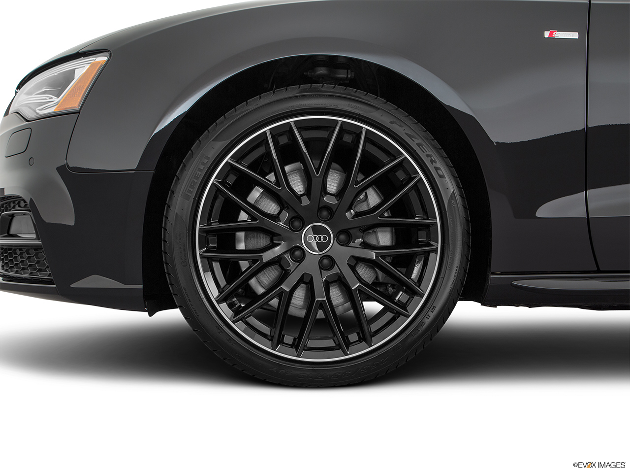 2017 Audi A5 Sport Cabriolet 2.0 TFSI Front Drivers side wheel at profile.