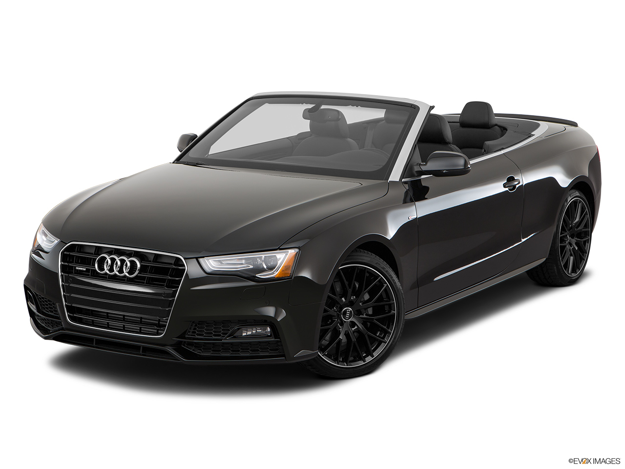 2017 Audi A5 Sport Cabriolet 2.0 TFSI Front angle view.