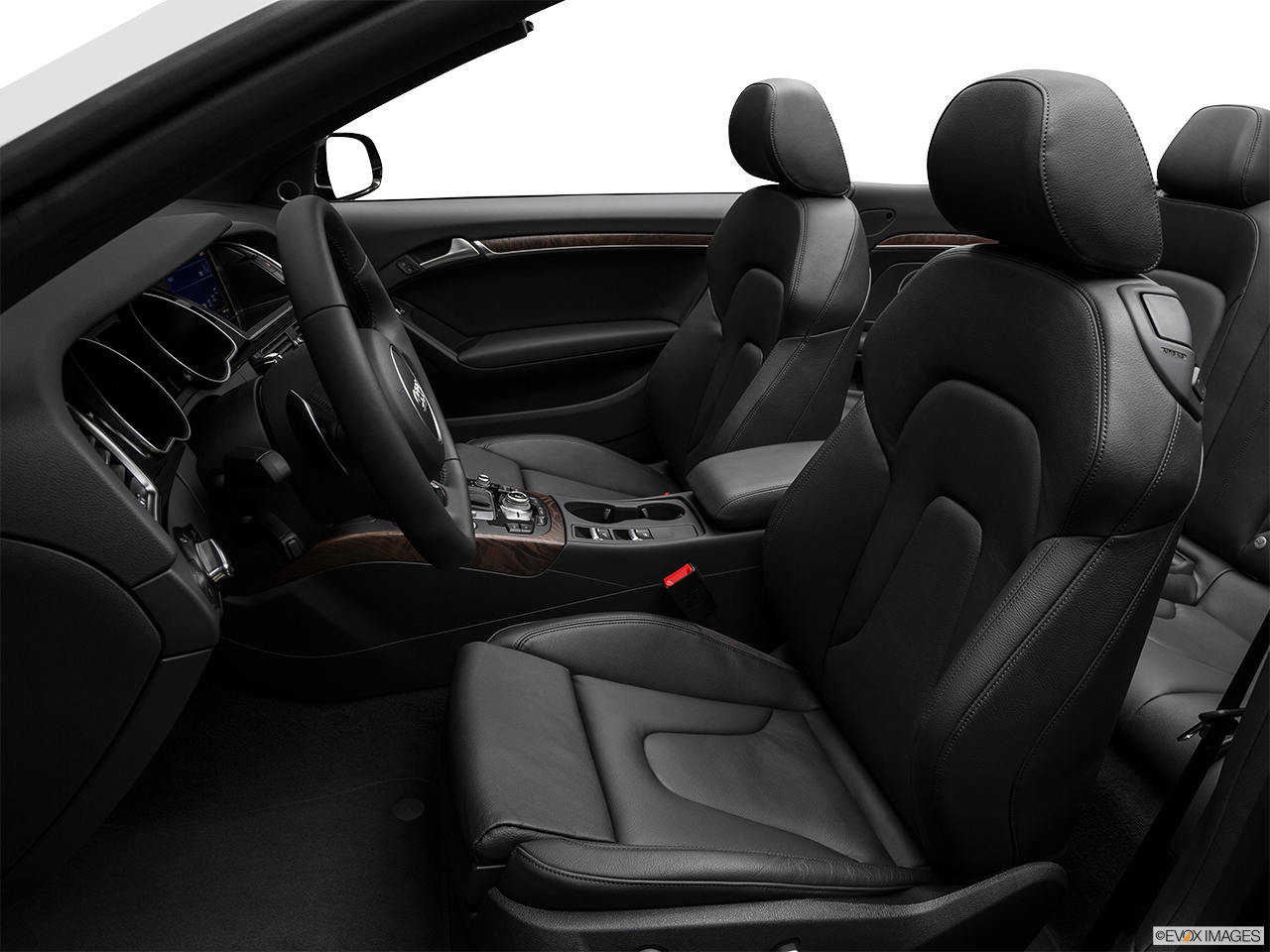 2017 Audi A5 Sport Cabriolet 2.0 TFSI Front seats from Drivers Side.