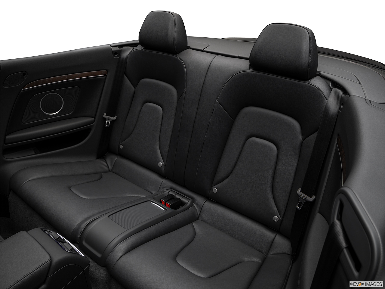 2017 Audi A5 Sport Cabriolet 2.0 TFSI Rear seats from Drivers Side.