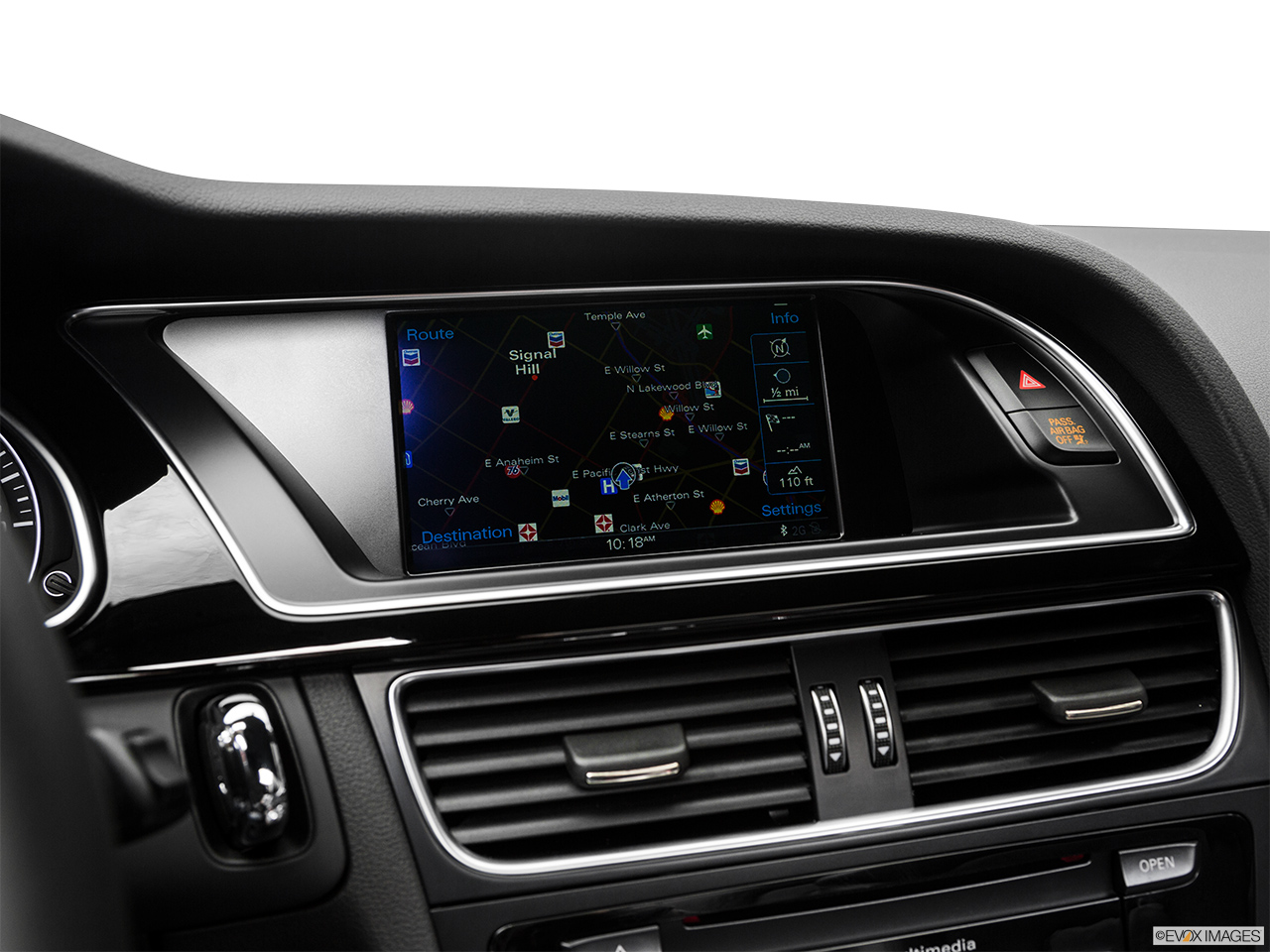 2017 Audi A5 Sport Cabriolet 2.0 TFSI Driver position view of navigation system.