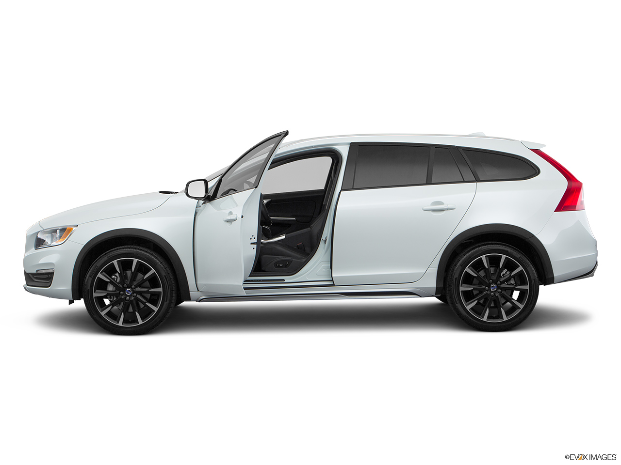 2018 Volvo V60 Cross Country T5 AWD Driver's side profile with drivers side door open.
