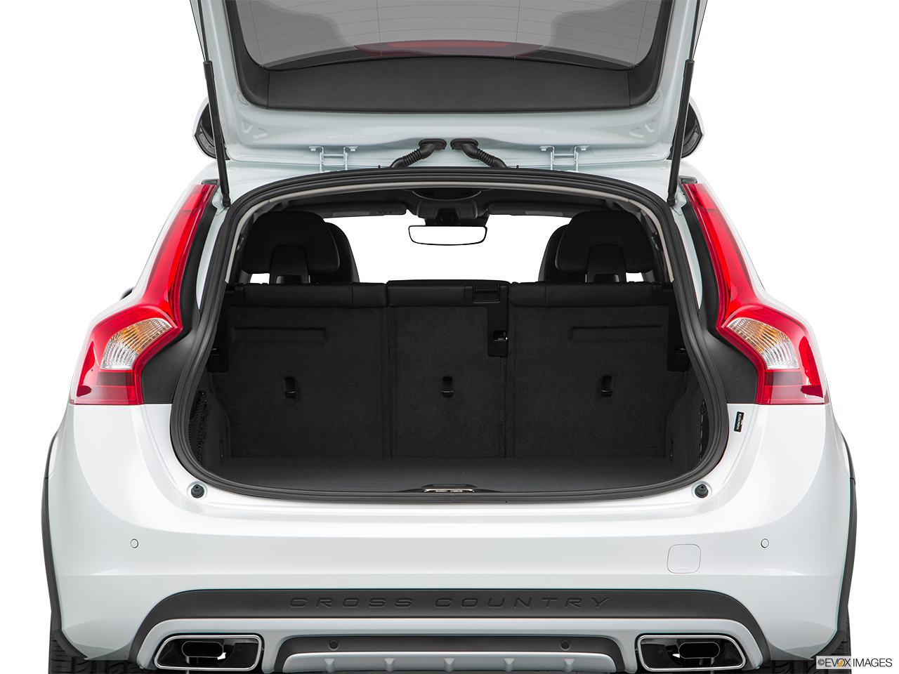 2018 Volvo V60 Cross Country T5 AWD Trunk open.
