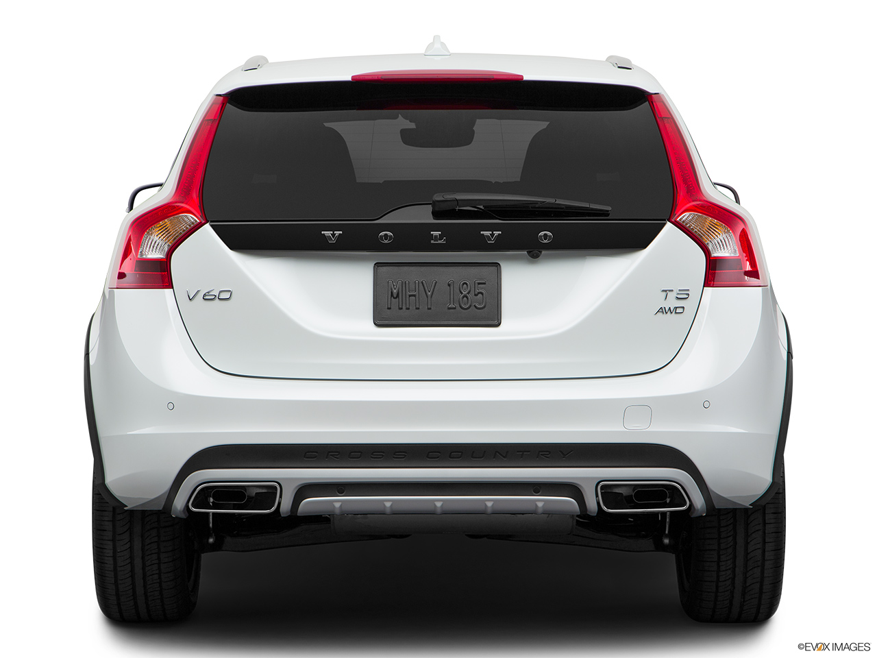 2018 Volvo V60 Cross Country T5 AWD Low/wide rear.
