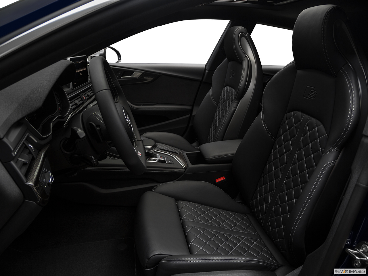 2019 Audi S5 Sportback Premium Plus 3.0 TFSI Front seats from Drivers Side.