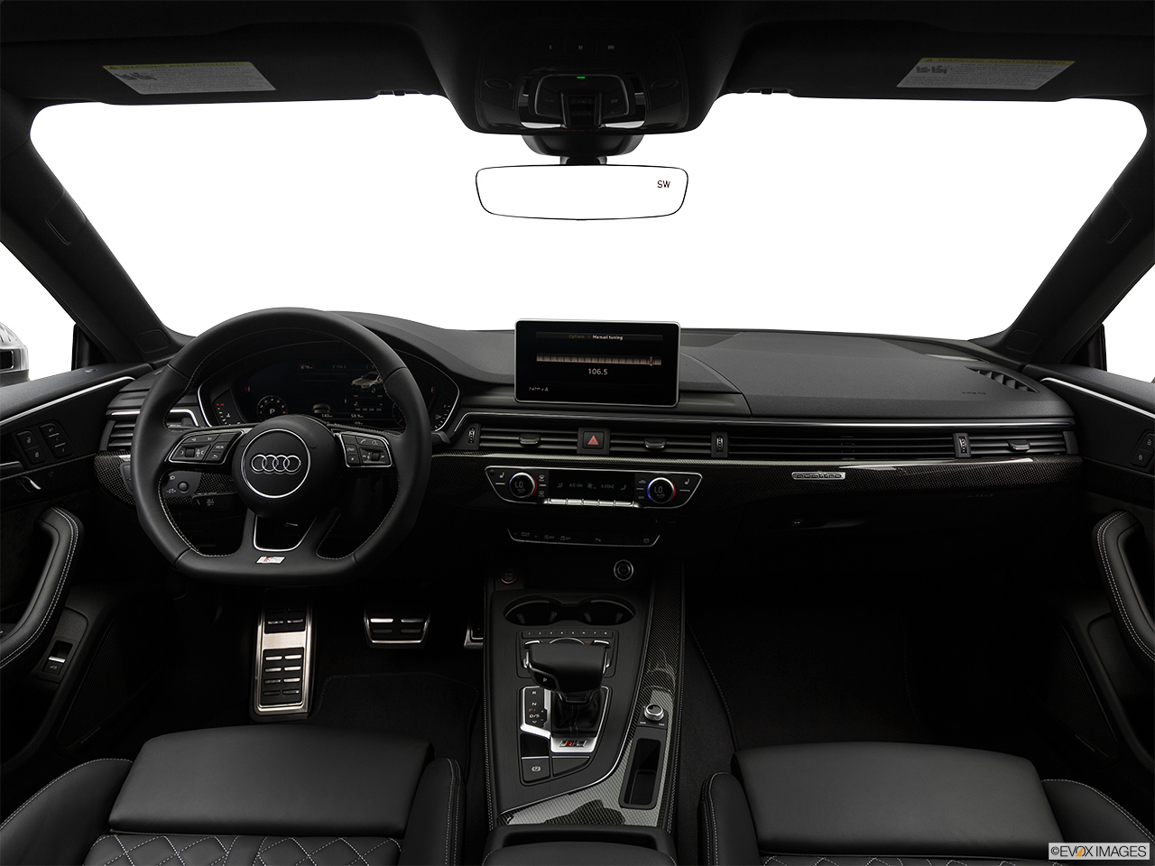 2019 Audi S5 Sportback Premium Plus 3.0 TFSI Centered wide dash shot