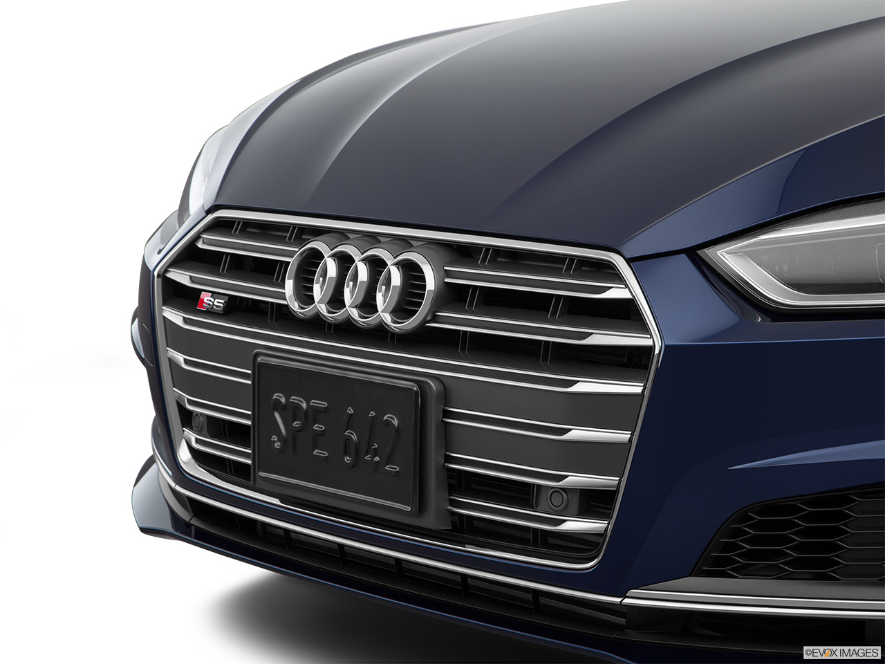 2019 Audi S5 Sportback Premium Plus 3.0 TFSI Close up of Grill.