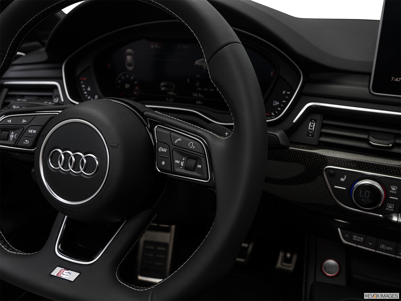 2019 Audi S5 Sportback Premium Plus 3.0 TFSI Steering Wheel Controls (Right Side)