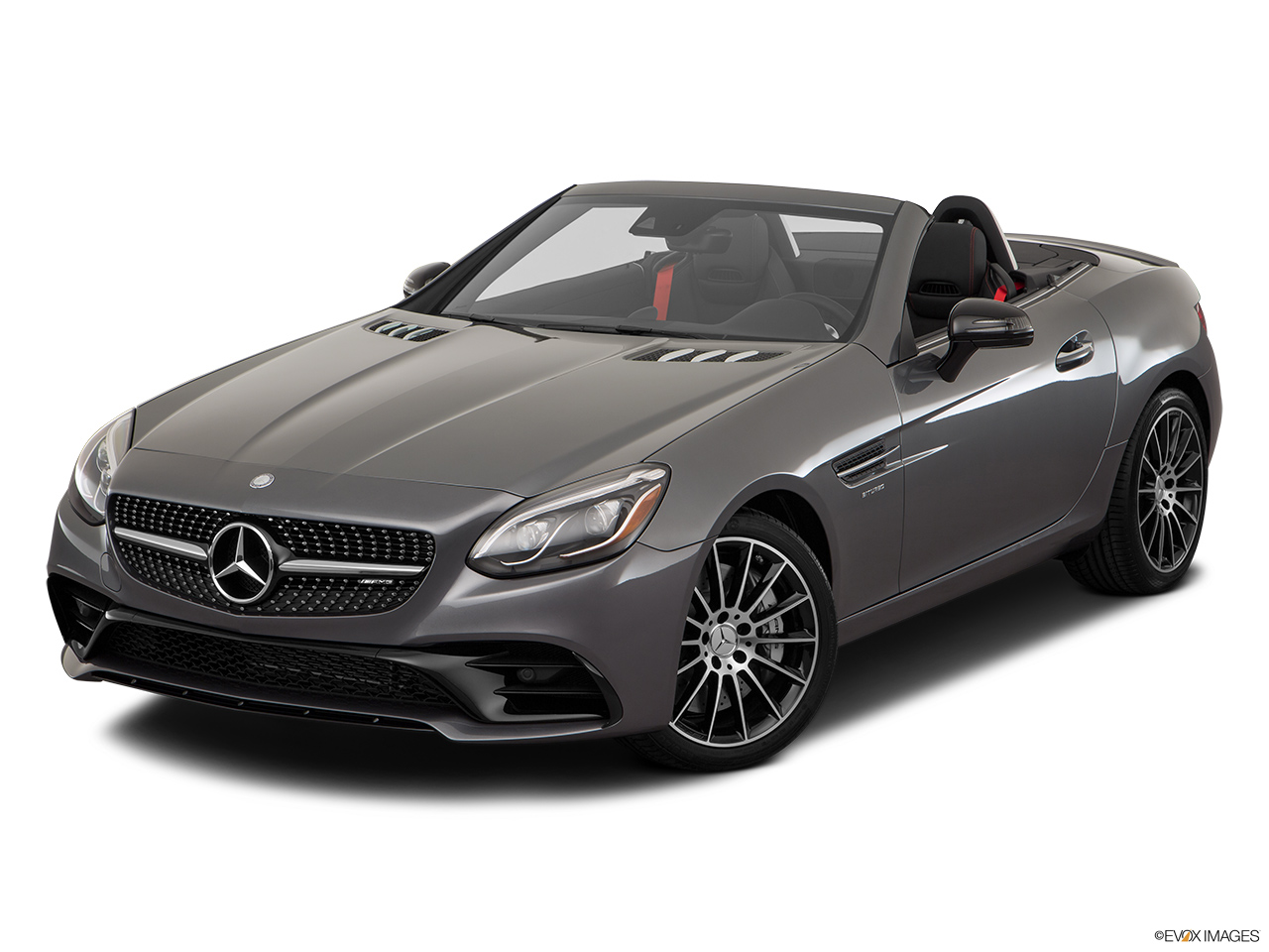 2019 Mercedes-Benz SLC-class SLC43 AMG Front angle view.