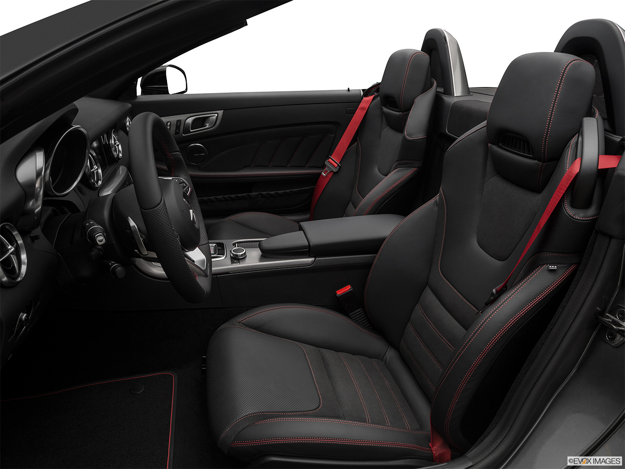2019 Mercedes-Benz SLC-class SLC43 AMG Front seats from Drivers Side.