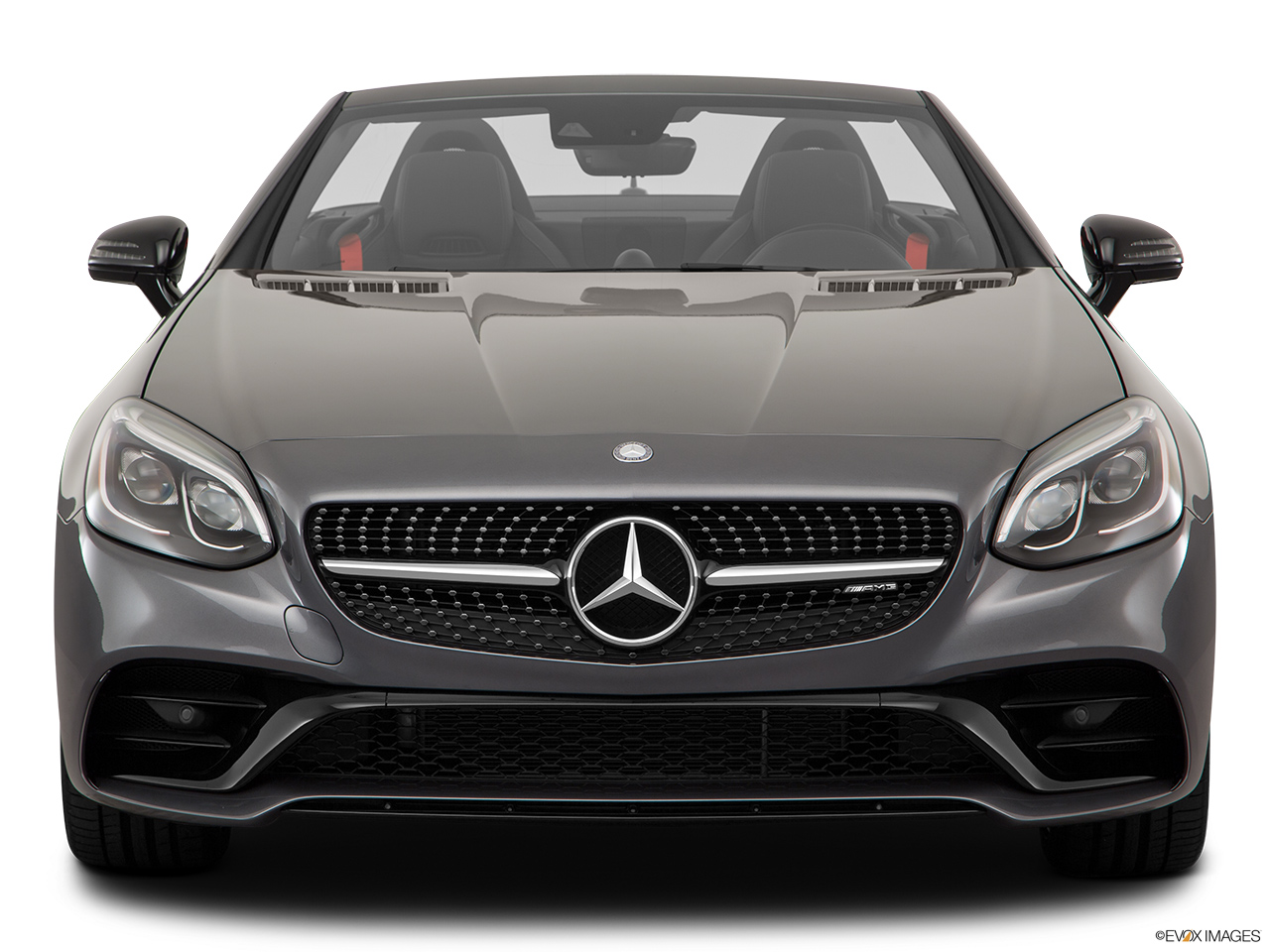 2019 Mercedes-Benz SLC-class SLC43 AMG Low/wide front.