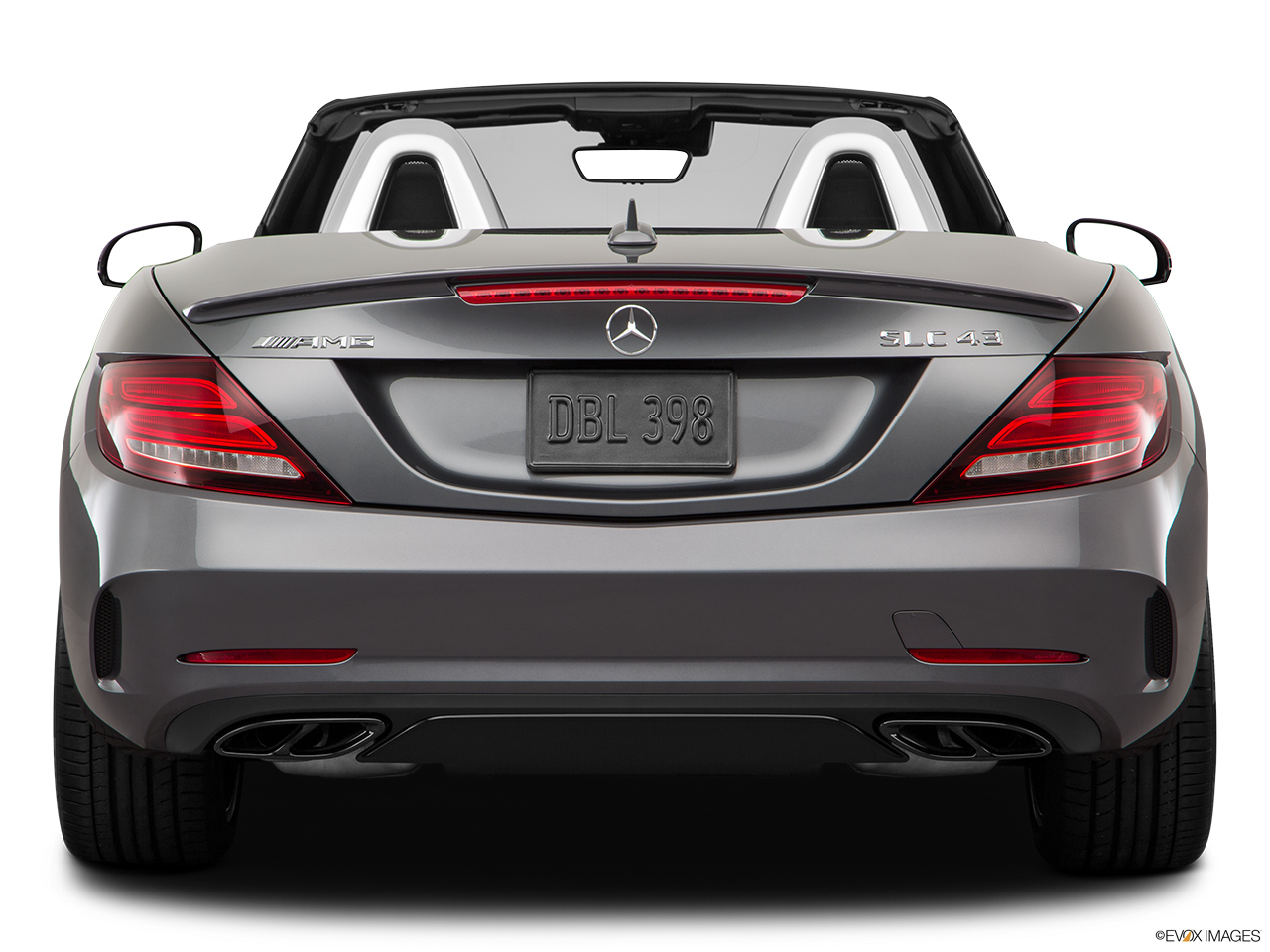 2019 Mercedes-Benz SLC-class SLC43 AMG Low/wide rear.
