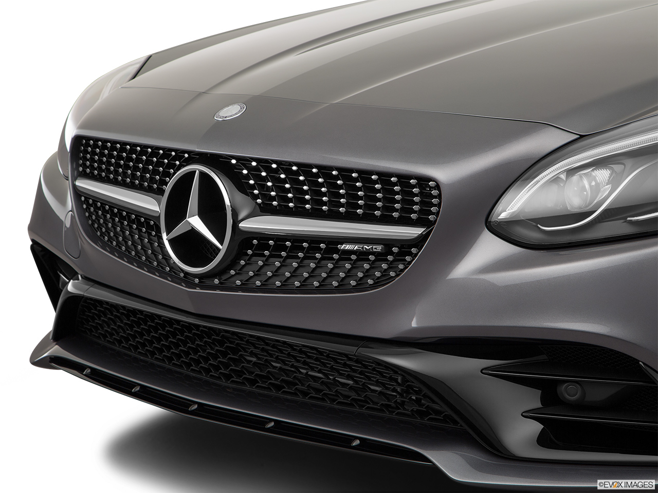 2019 Mercedes-Benz SLC-class SLC43 AMG Close up of Grill.