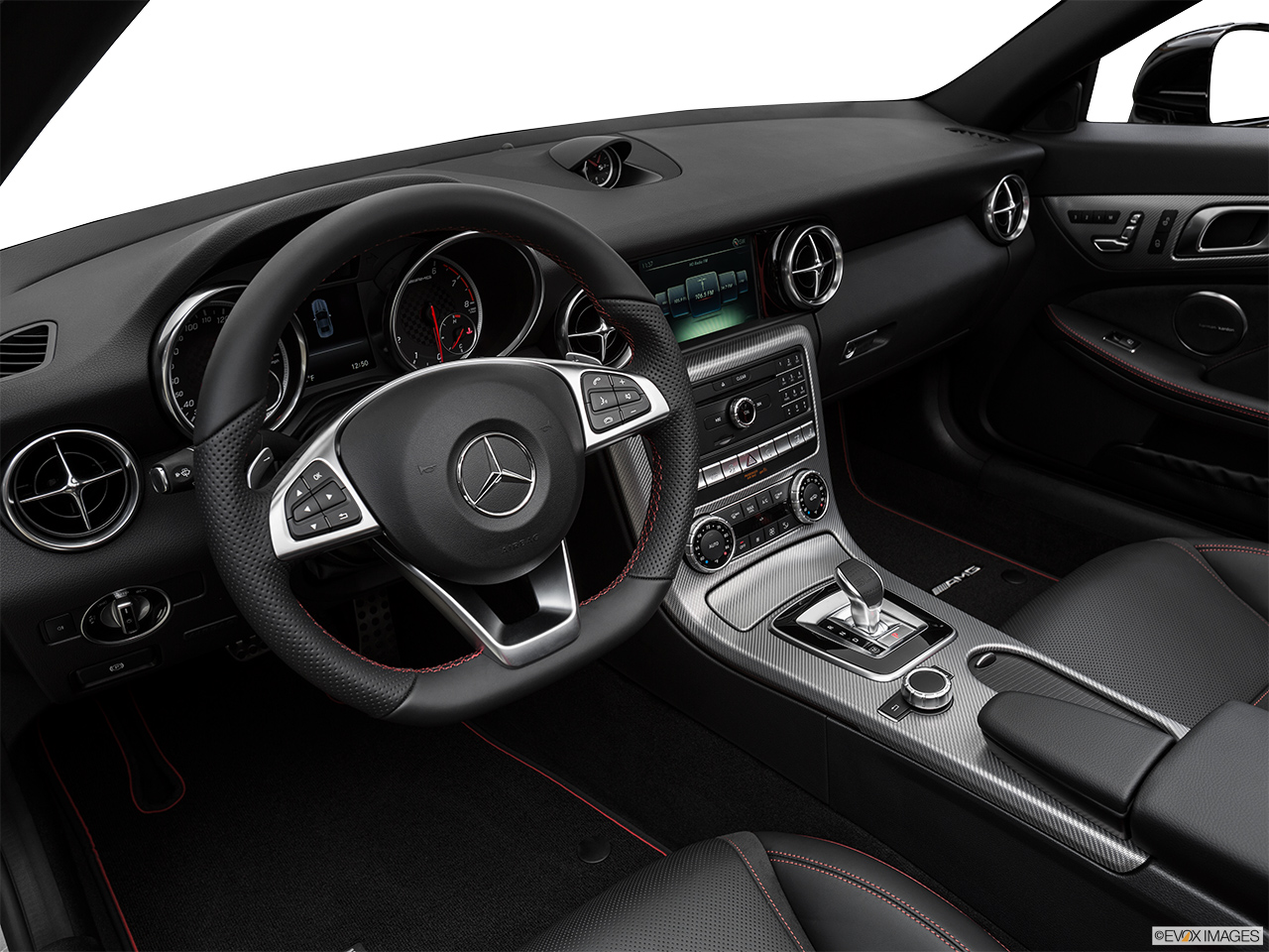 2019 Mercedes-Benz SLC-class SLC43 AMG Interior Hero (driver's side).