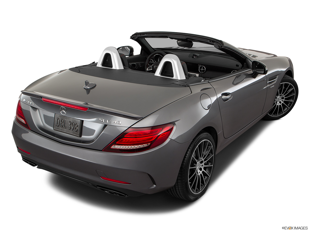 2019 Mercedes-Benz SLC-class SLC43 AMG Rear 3/4 angle view.
