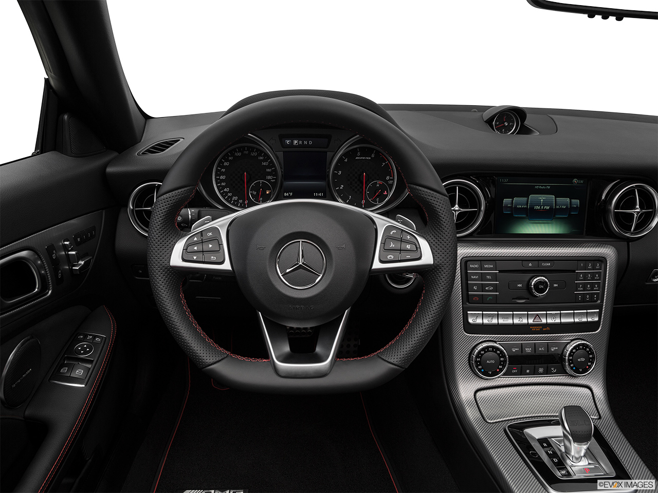 2019 Mercedes-Benz SLC-class SLC43 AMG Steering wheel/Center Console.