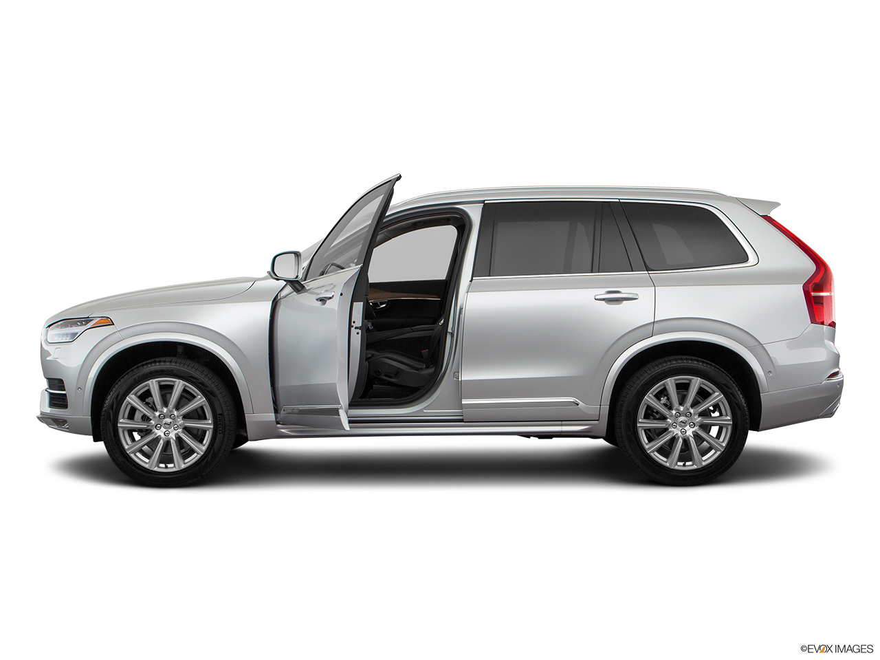 2019 Volvo XC90  T6 Inscription Driver's side profile with drivers side door open.