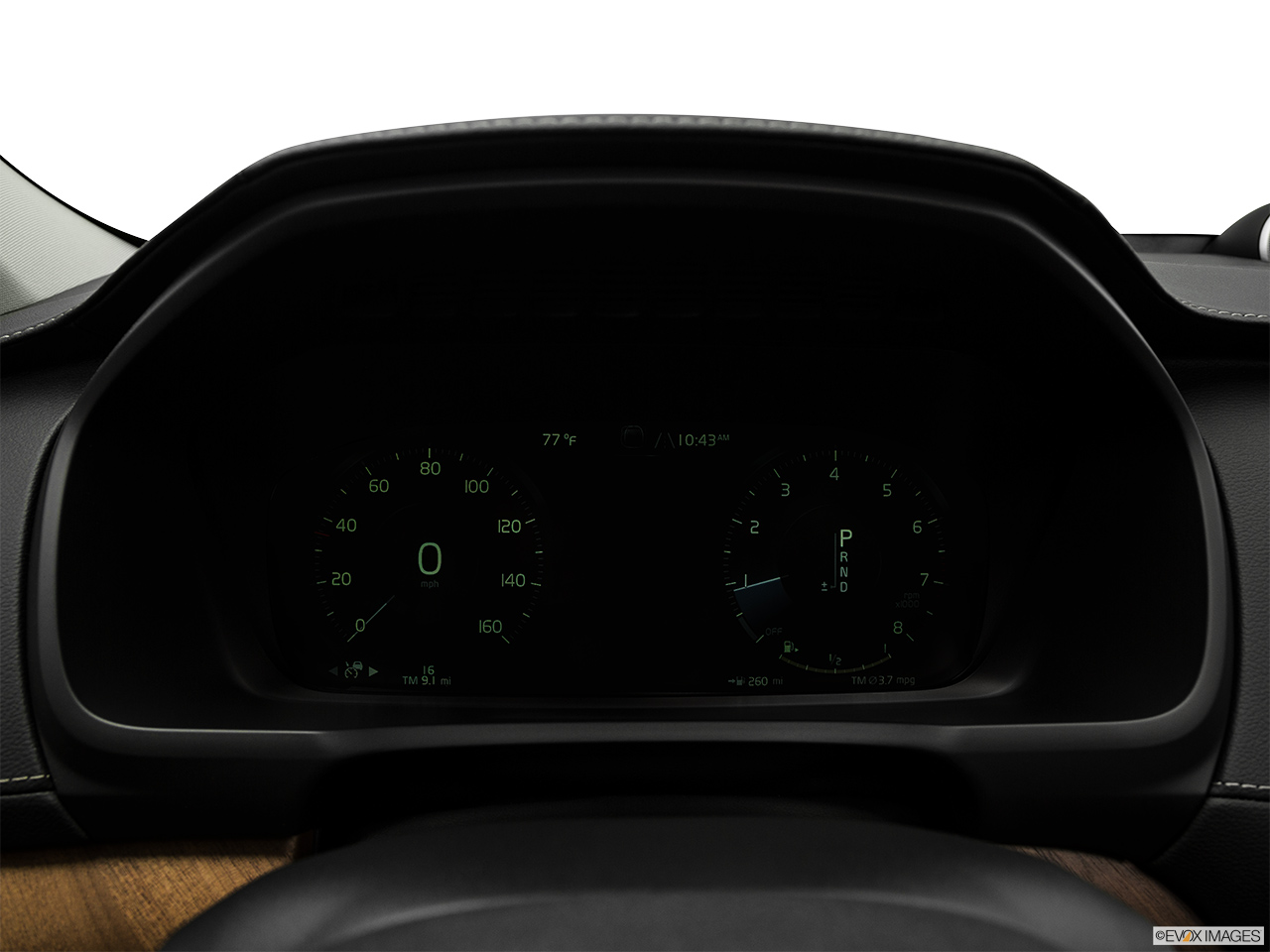 2019 Volvo XC90  T6 Inscription Speedometer/tachometer.