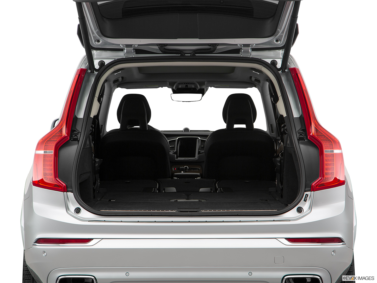 2019 Volvo XC90  T6 Inscription Hatchback & SUV rear angle.