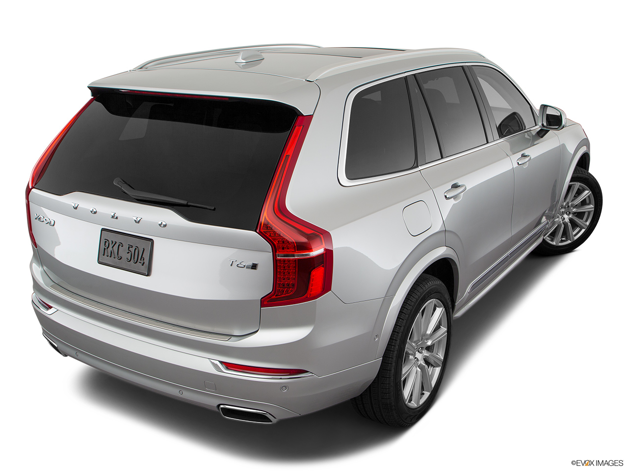 2019 Volvo XC90  T6 Inscription Rear 3/4 angle view.