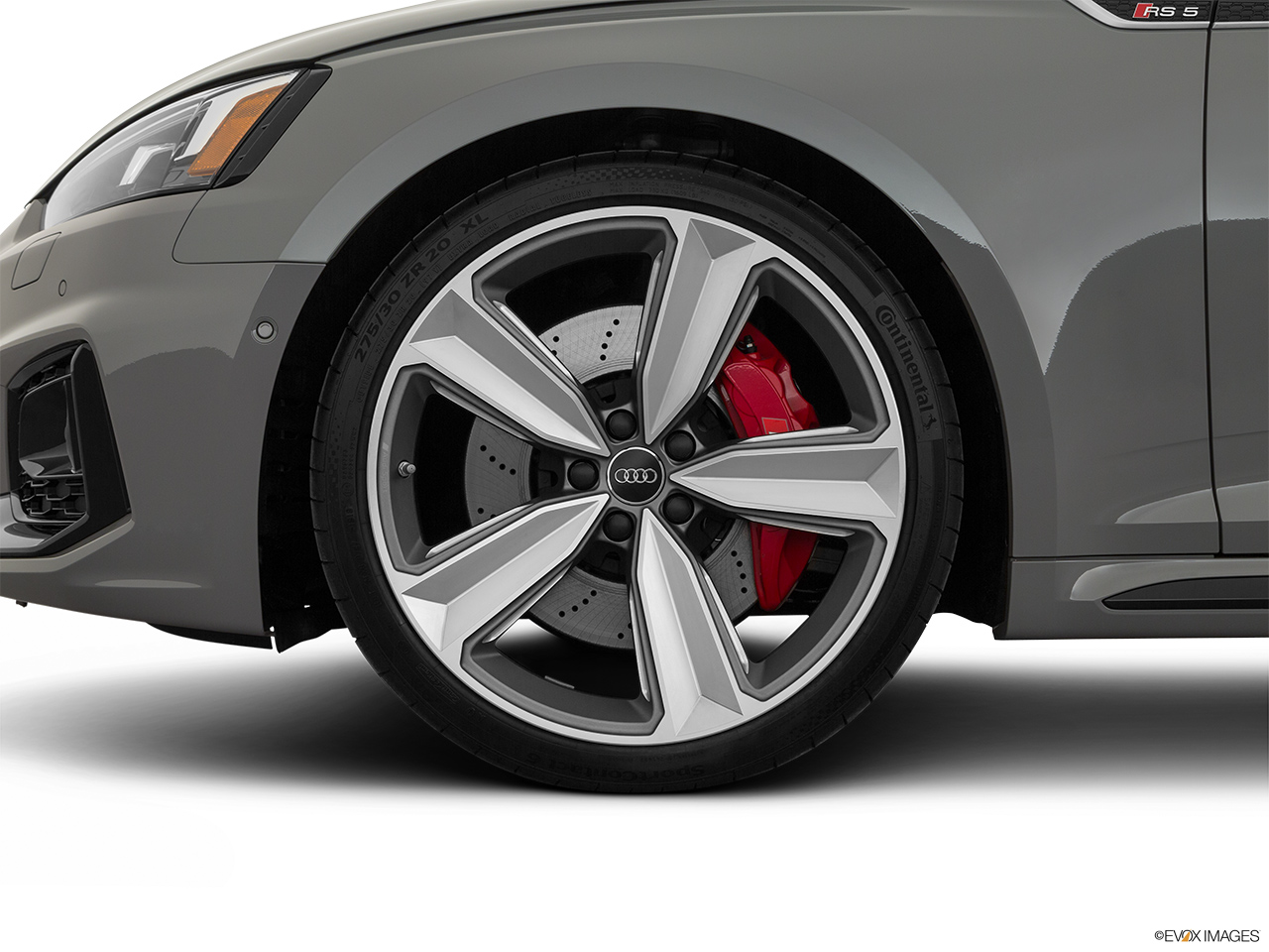 2019 Audi RS 5 Sportback 2.9 TFSI Front Drivers side wheel at profile.