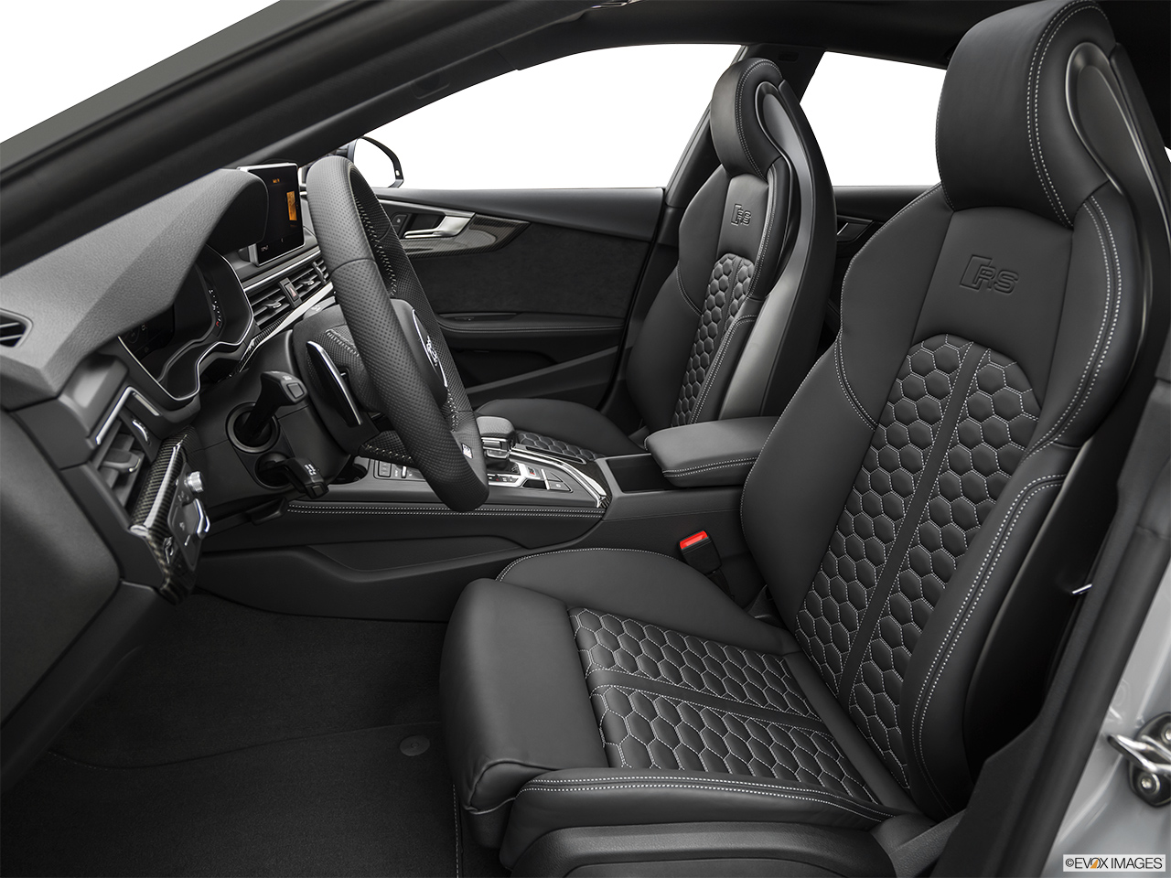 2019 Audi RS 5 Sportback 2.9 TFSI Front seats from Drivers Side.