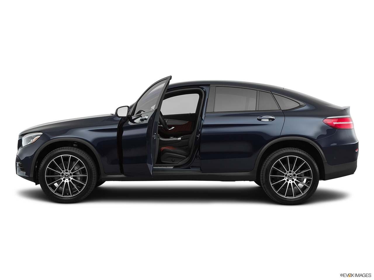 2019 Mercedes-Benz GLC-Class Coupe GLC 300 4MATIC Driver's side profile with drivers side door open.